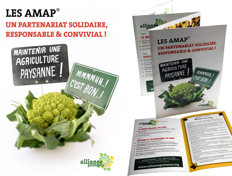 plaquette alliance provence amap poulets bicyclettes